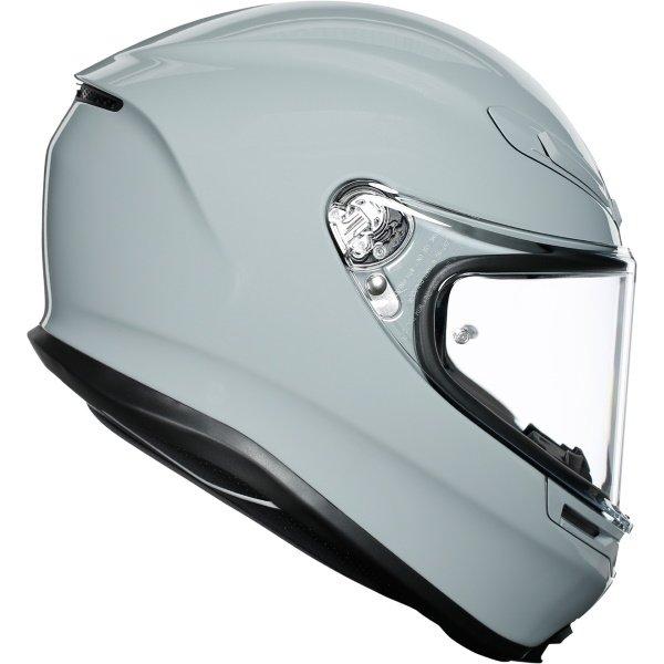 AGV K6 Solid Helmet Nardo Grey Size: S