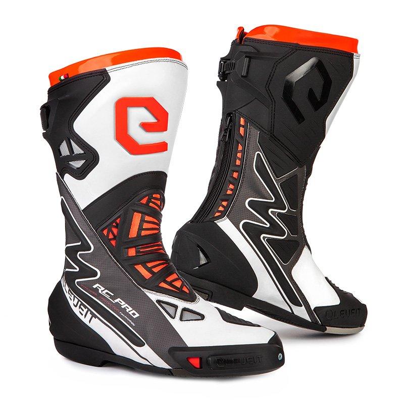 Eleveit RC-Pro Boots White Fluo Orange Size: UK 6.5
