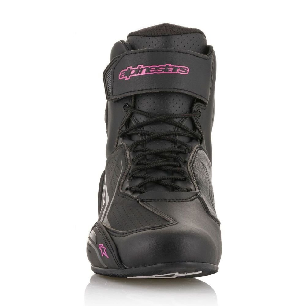 Alpinestars Stella Faster-3 Shoes Black Fuchsia Size: UK 2