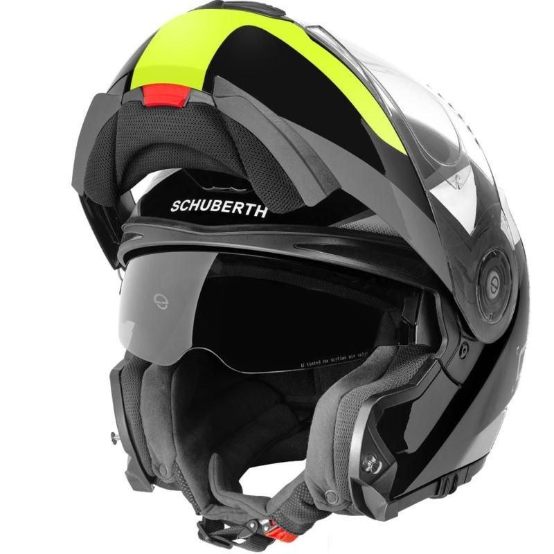 C3 Pro Helmet Sestante Yellow Schuberth Helmets