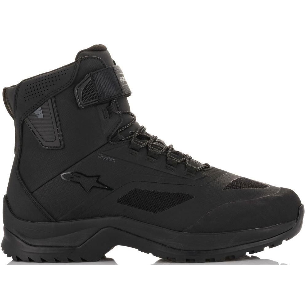 Alpinestars CR-6 Drystar Riding Shoes Black Size: UK 5.5