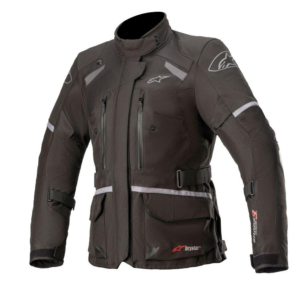 Alpinestars Stella Andes V3 Drystar Jacket Black Dark Grey Size: Ladies UK - S