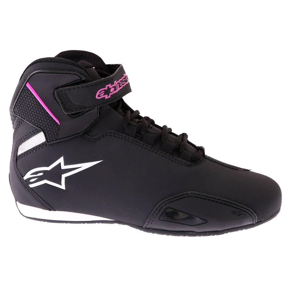 Alpinestars Stella Sektor Shoes Black Fuchsia Size: UK 5