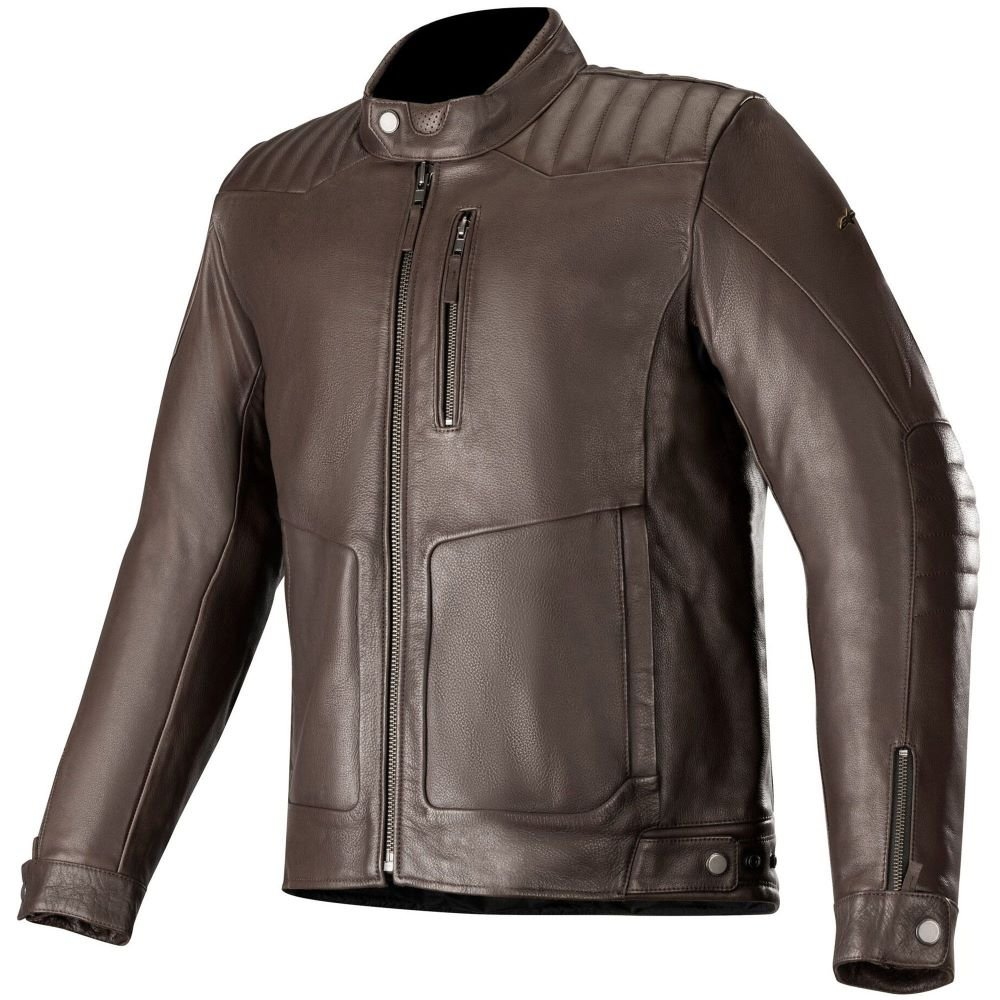 Alpinestars Crazy Eight LT Jacket Tobacco Brown Size: Mens UK - S