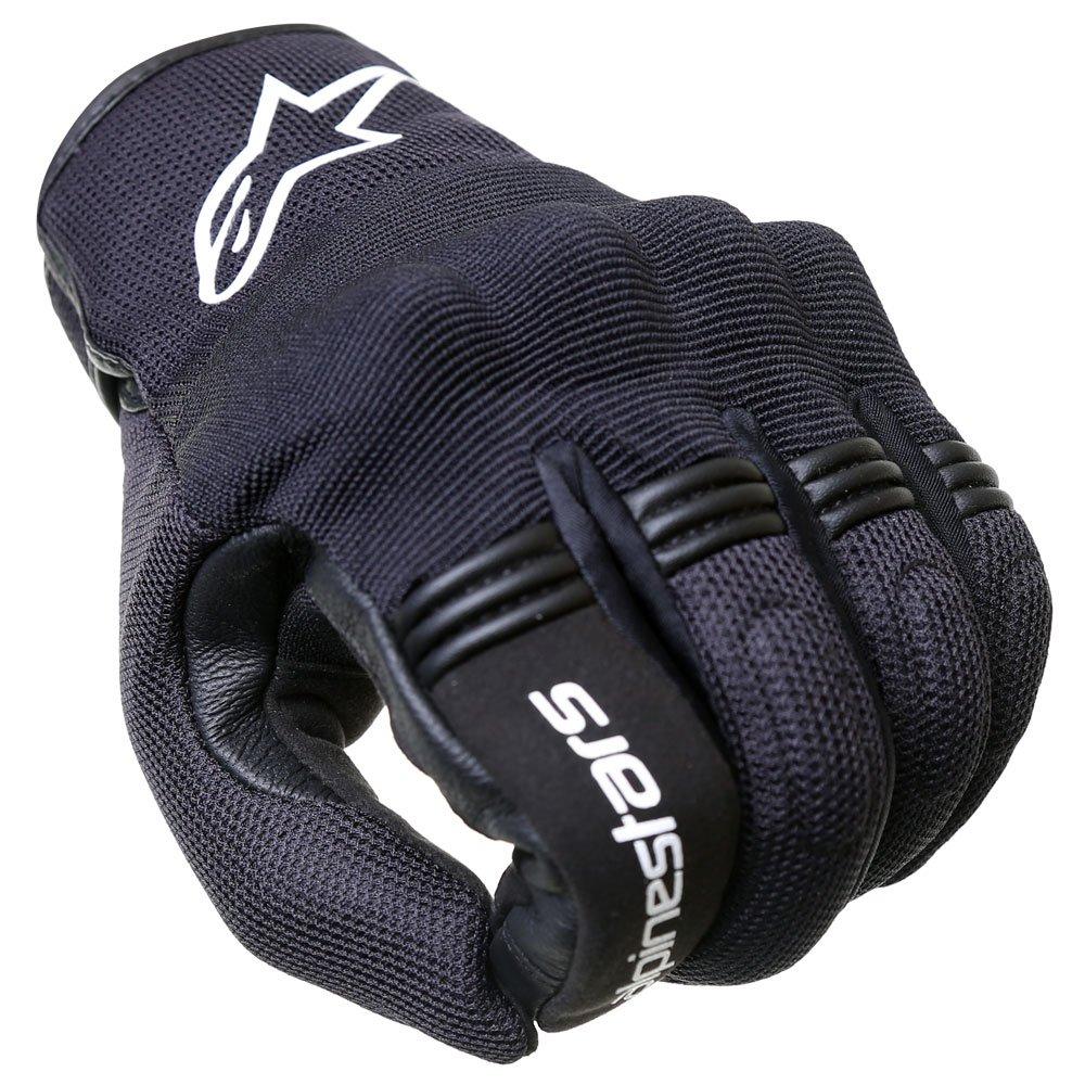 Alpinestars Copper Gloves Black White Size: Mens - M