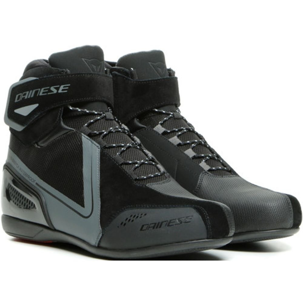 Dainese Energyca D-WP Shoes Black Anthracite UK 5