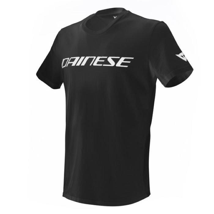 Dainese T-Shirt Black White Size: M