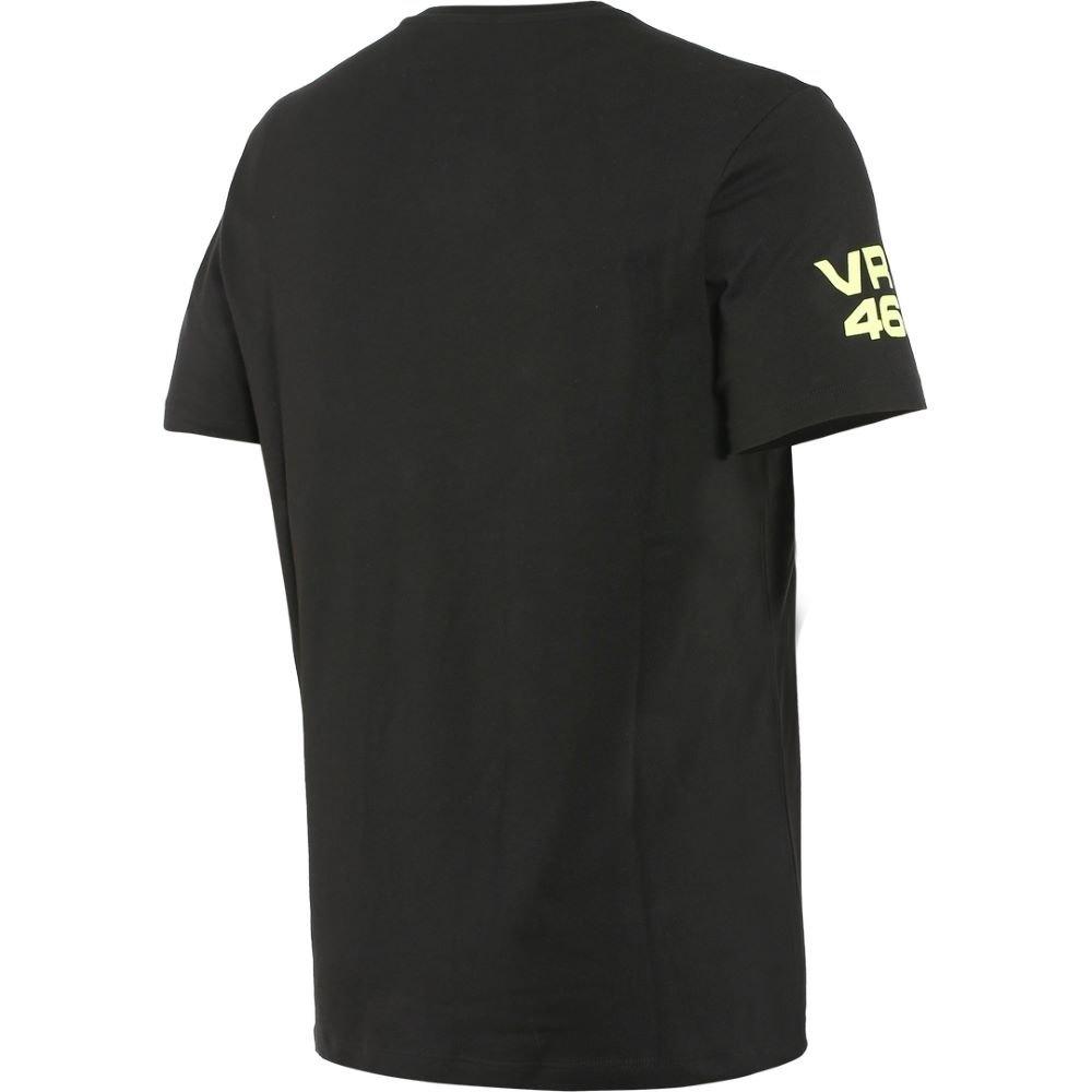 Dainese VR46 Pit Lane T-Shirt Black Fluo Yellow M