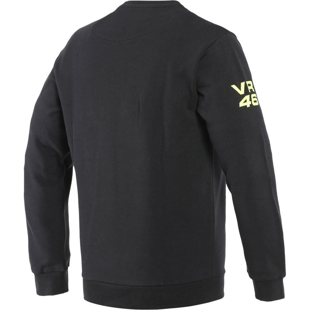 Dainese VR46 Team Sweatshirt Black Fluo Yellow M