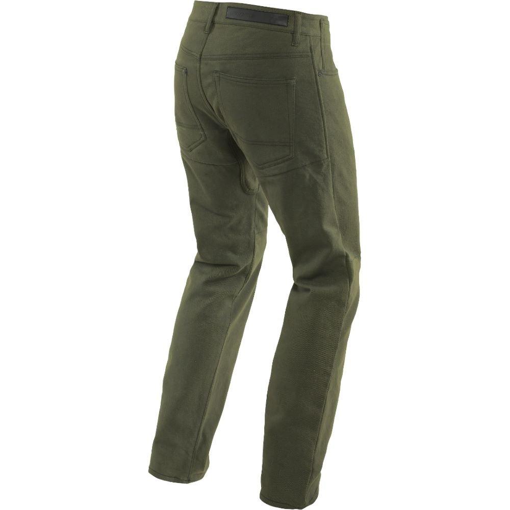 Dainese Classic Regular Jeans Olive MENS UK : 32