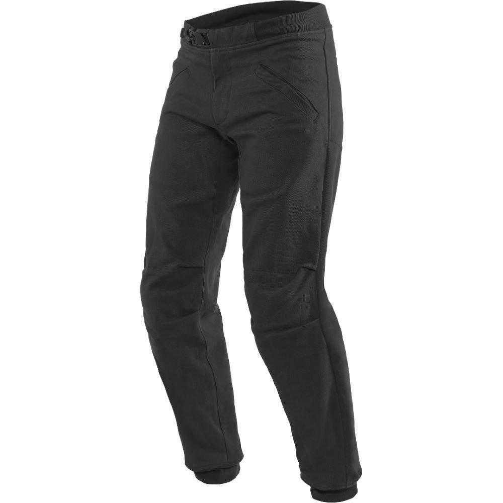 Dainese Trackpants Tex Pants Black MENS UK - 32