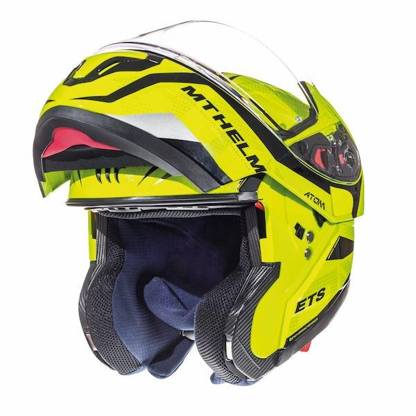 Atom Divergence Helmet Fluo Yellow MT Helmets