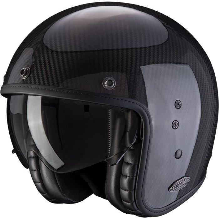 Belfast Carbon Helmet Gloss Carbon Scorpion Helmets