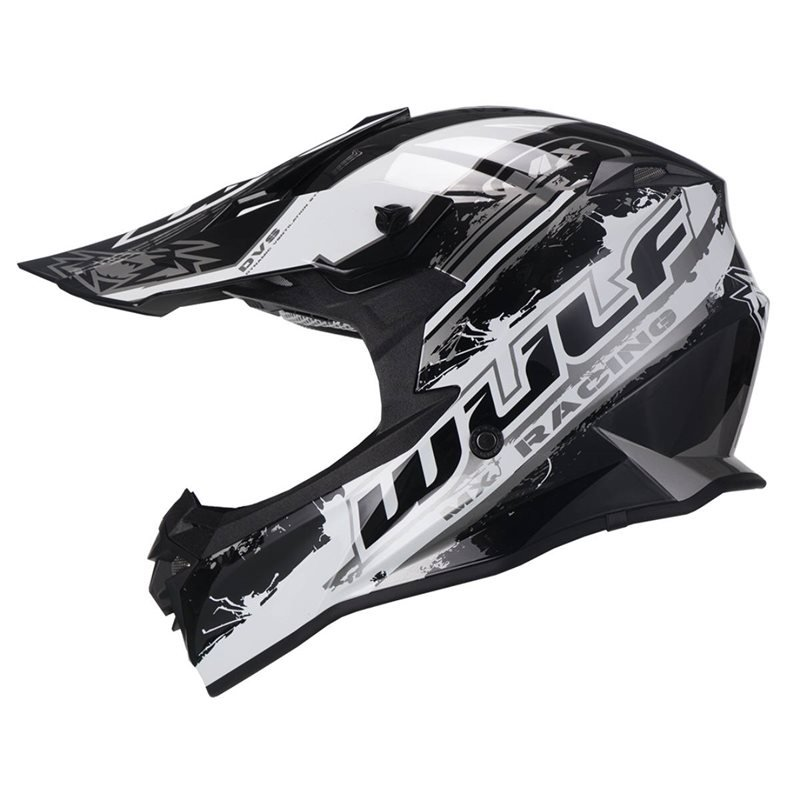 Adult Off Road Pro Helmet Black Wulfsport
