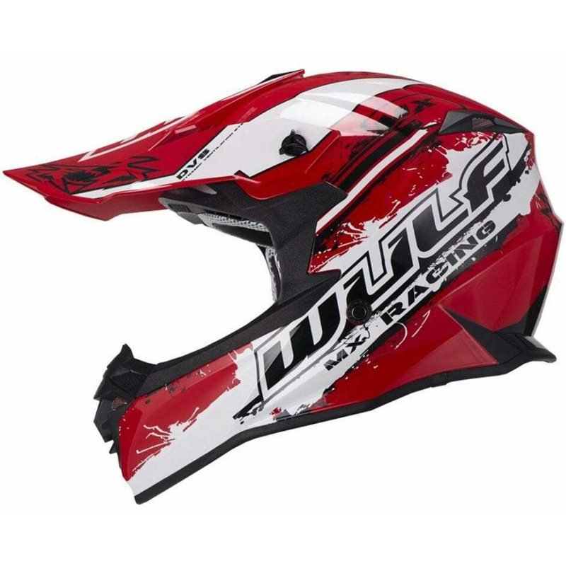 Adult Off Road Pro Helmet Red Wulfsport