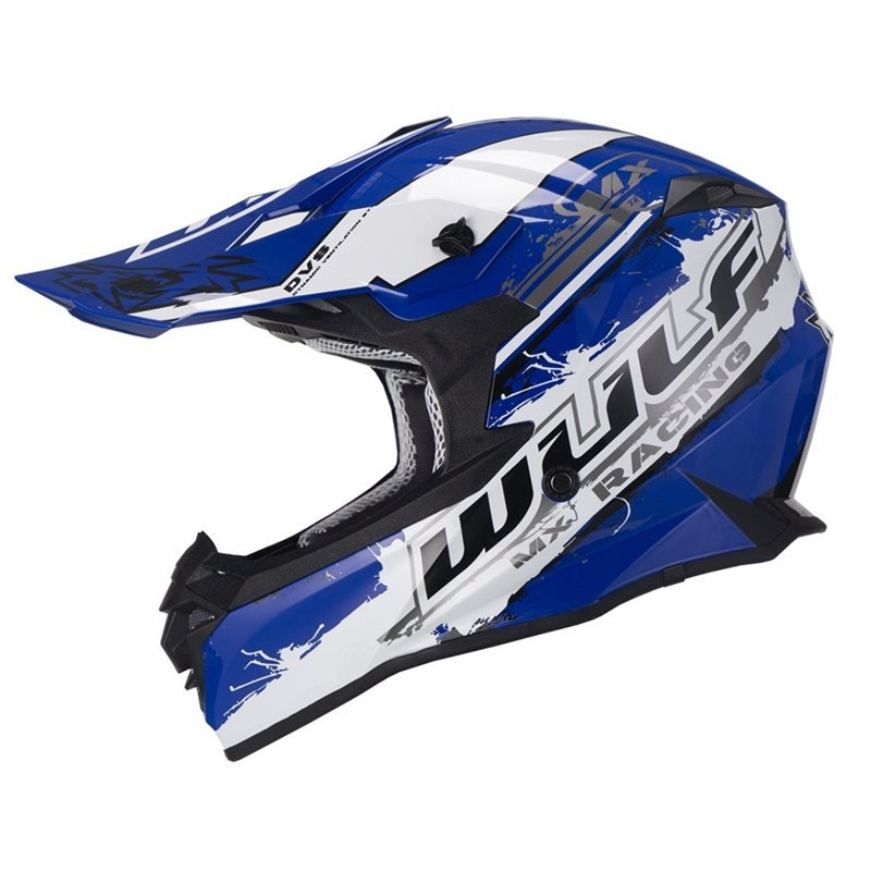 Adult Off Road Pro Helmet Blue Wulfsport