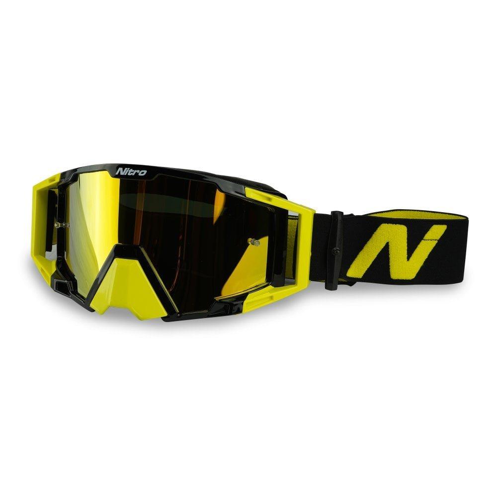 NV-100 Goggles High Vis Yellow Motocross
