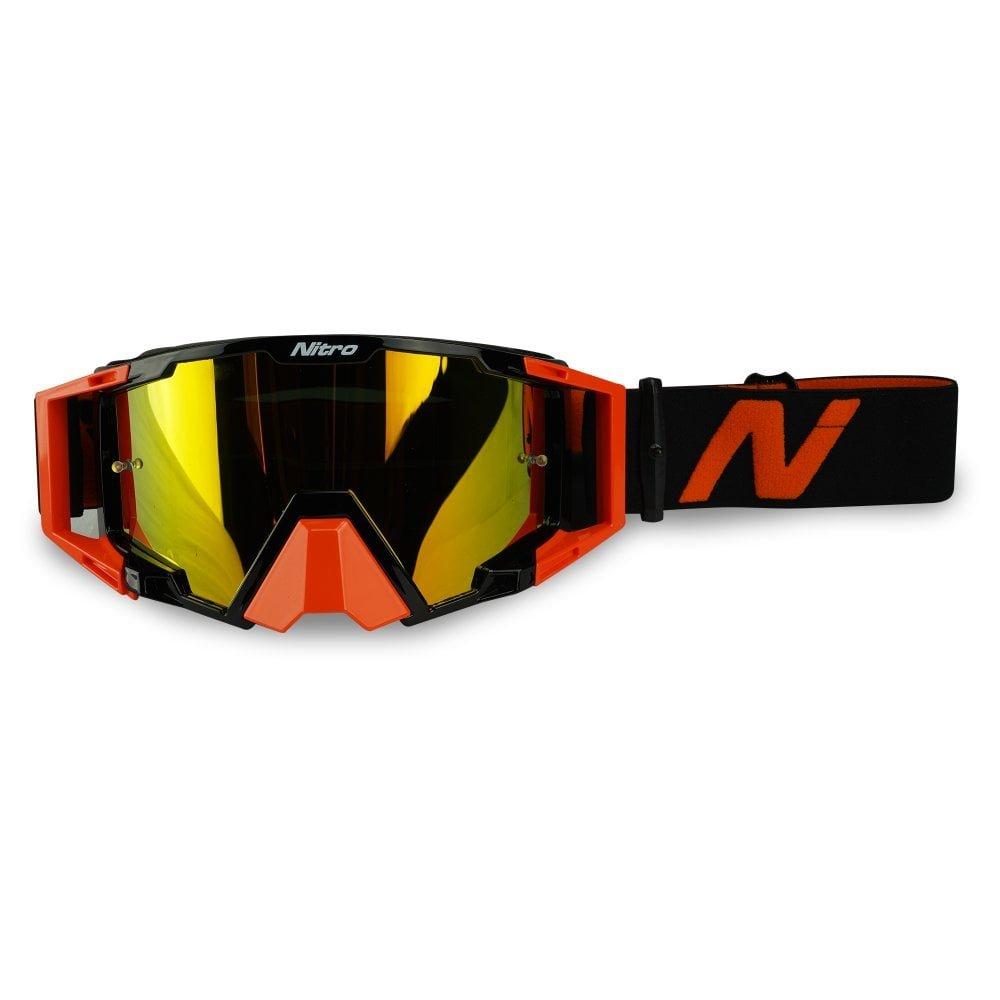 NV-100 Goggles Orange Motocross