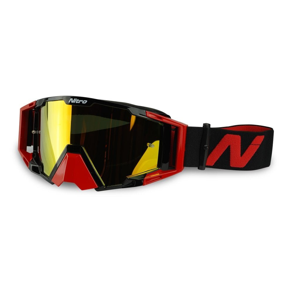 NV-100 Goggles Red Motocross Goggles