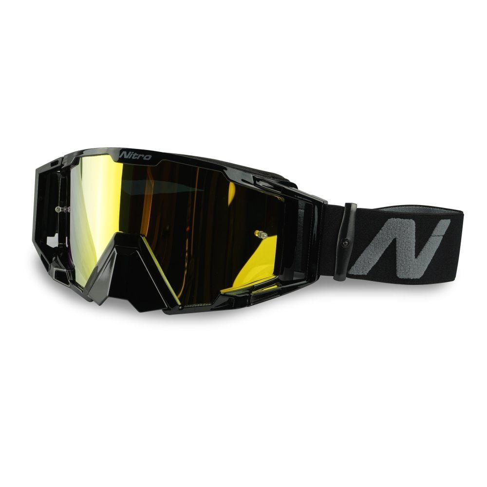 NV-100 Goggles Black Motocross Goggles