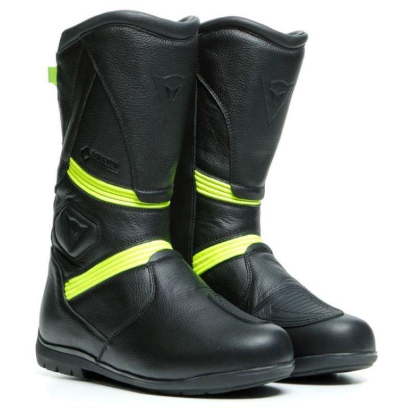 Dainese Fulcrum GT Goretex Boots Black Fluo Yellow 5