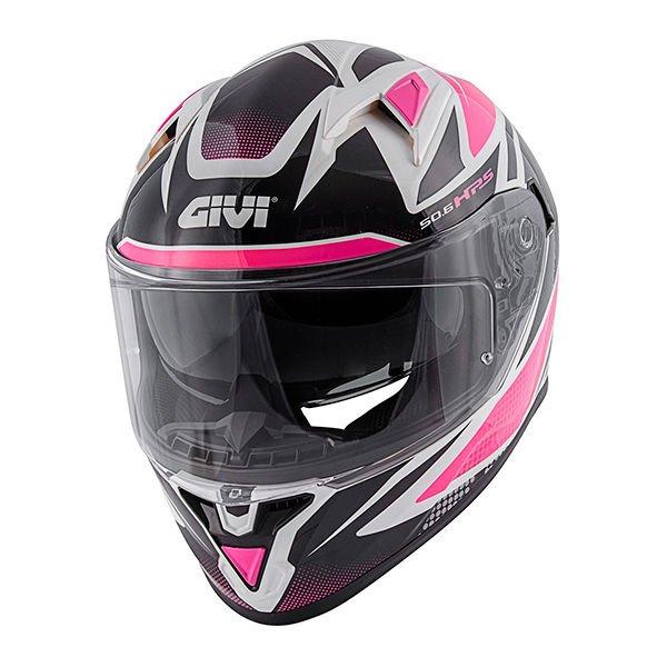 50.6 Stoccarda Helmet White Pink Givi Helmets