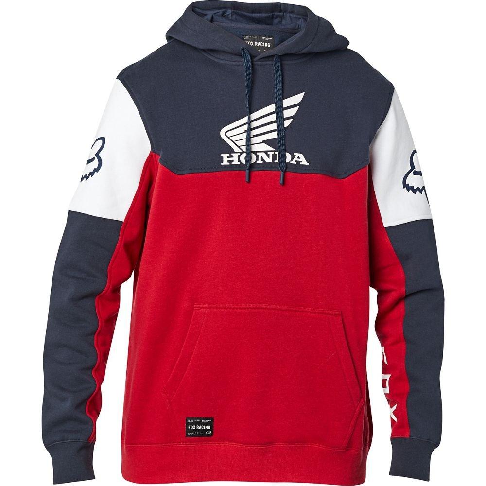 Honda Pullover Fleece Navy Red Fox Casual Clothing