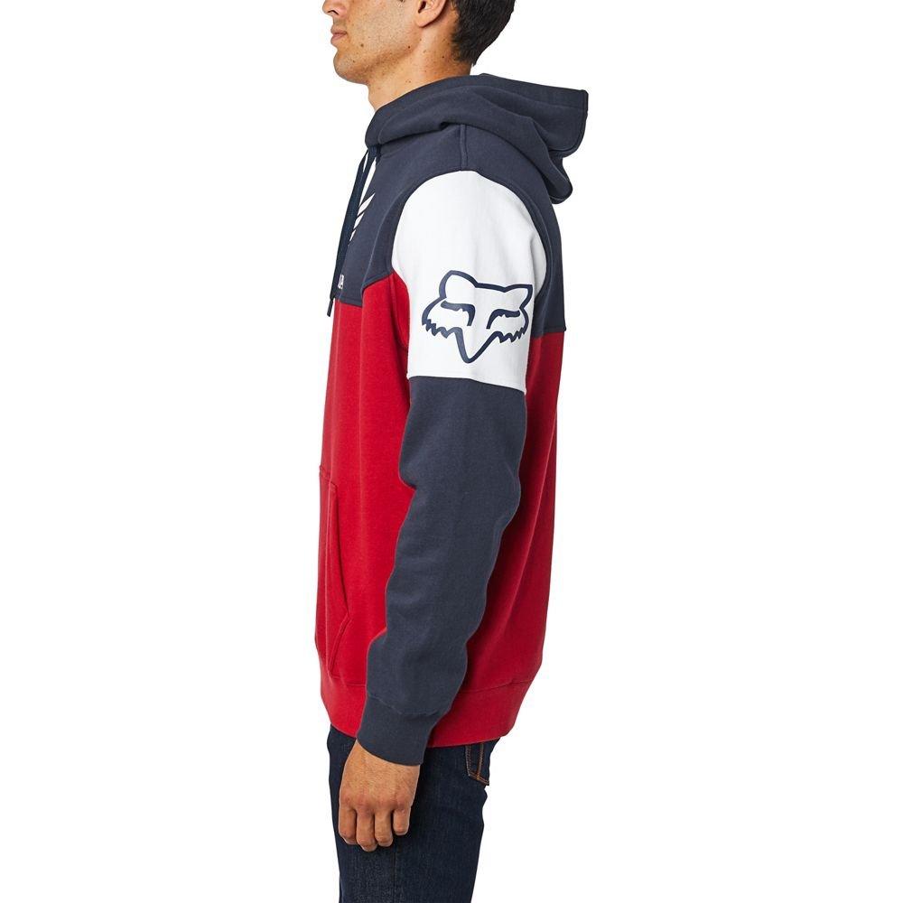 Fox Honda Pullover Fleece Navy Red Mens - M