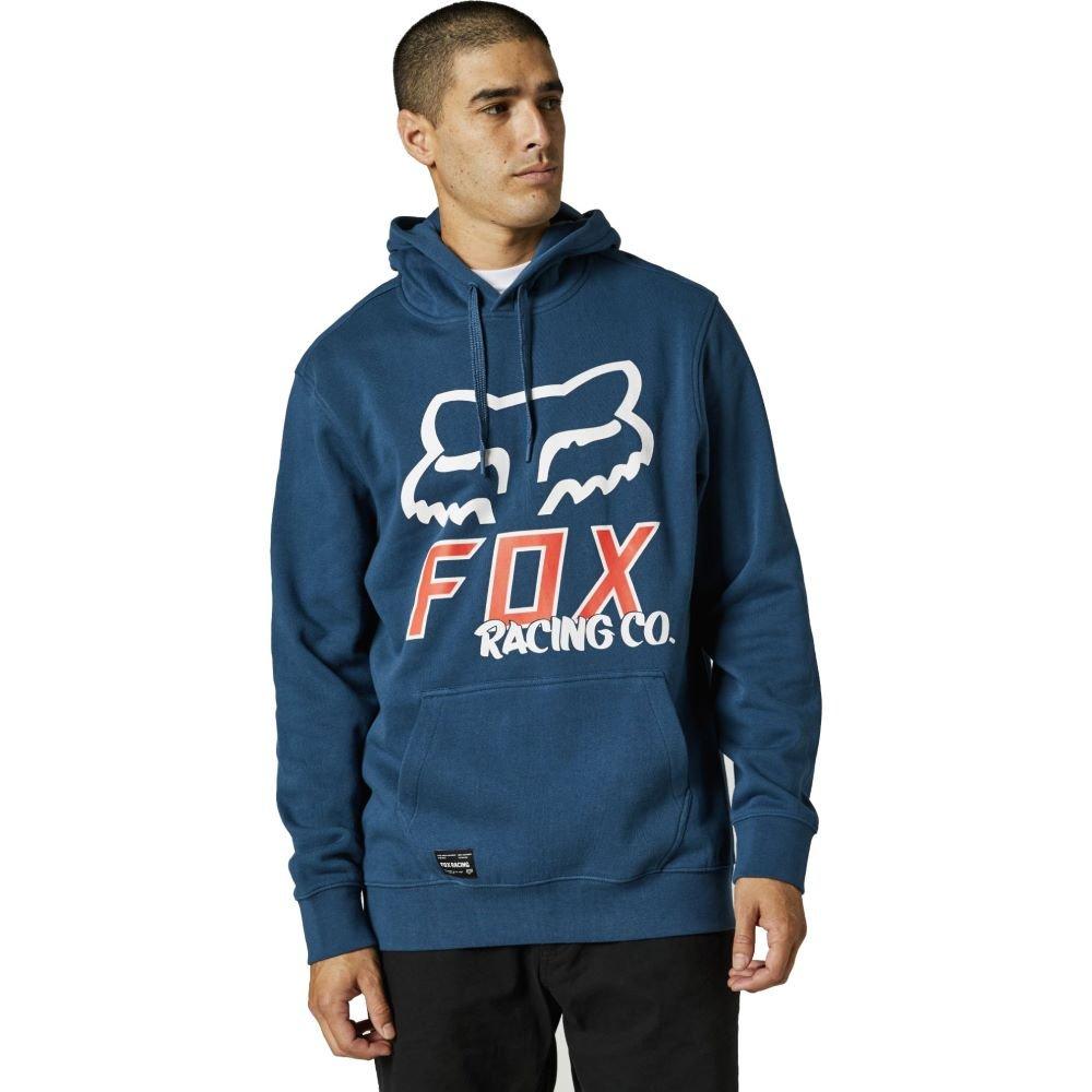 Fox Hightail Pullover Fleece Dark Indigo Mens - S
