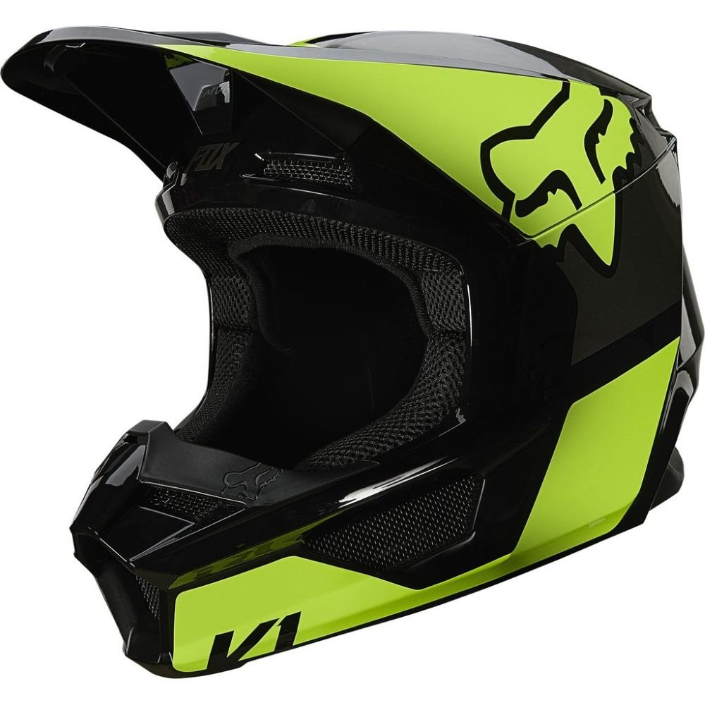V1 Revn Helmet Flo Yellow Motorcycle Helmets