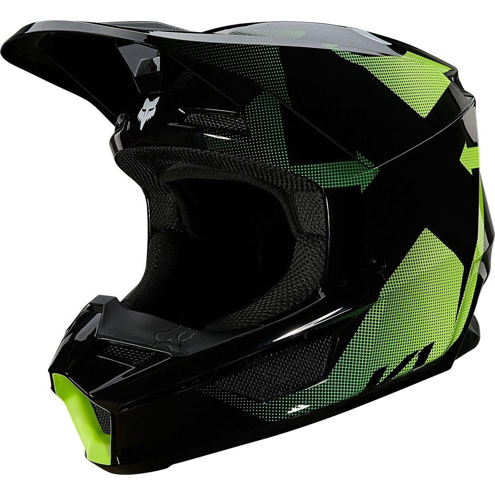 V1 Tayzer Helmet Black Motorcycle Helmets