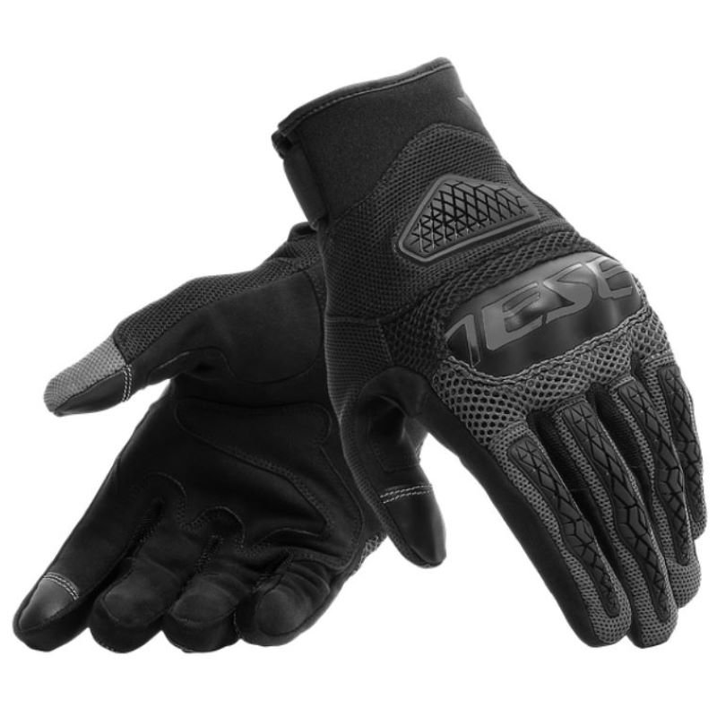 Bora Gloves Black Anthracite Gloves