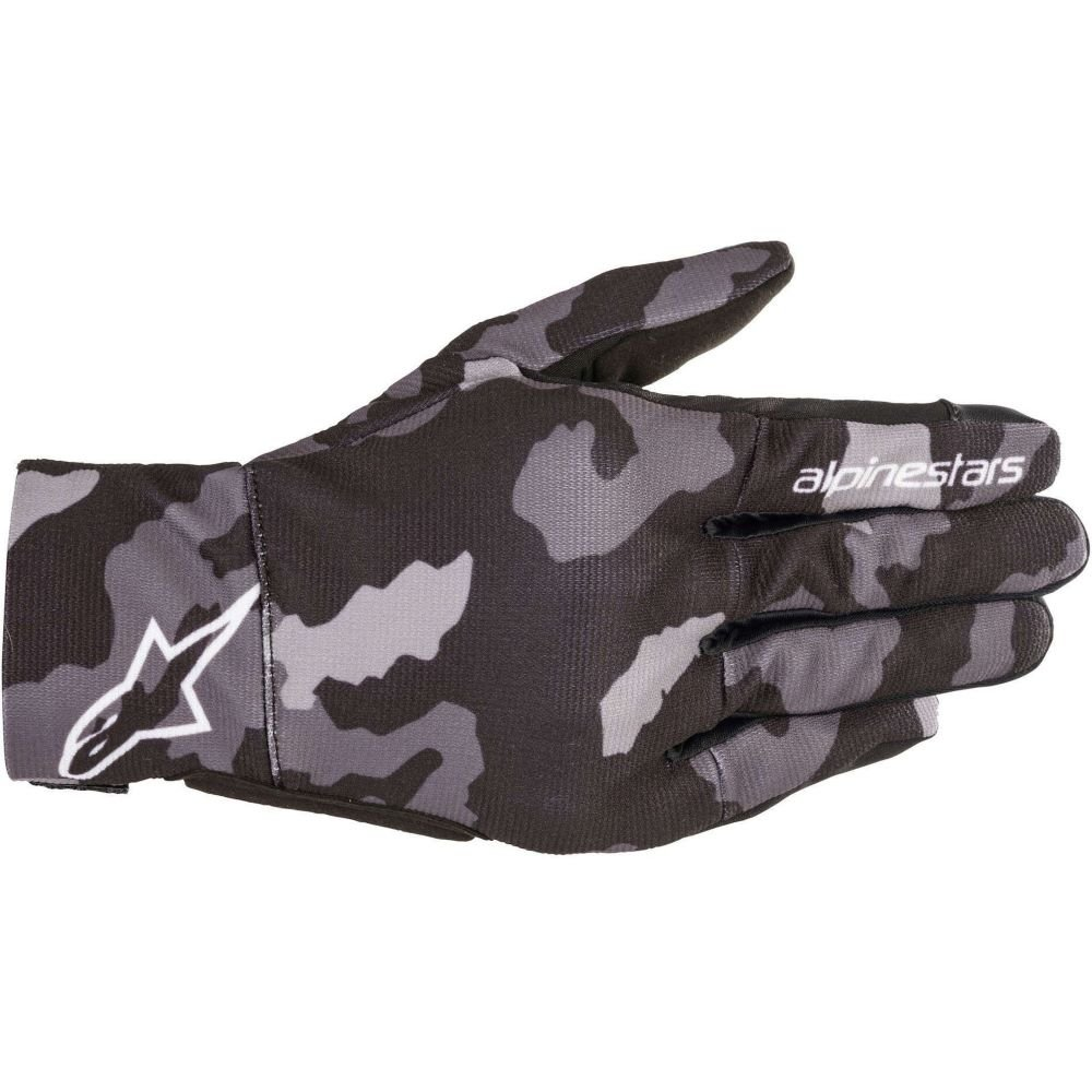 Alpinestars Reef Gloves Black Grey Camo M
