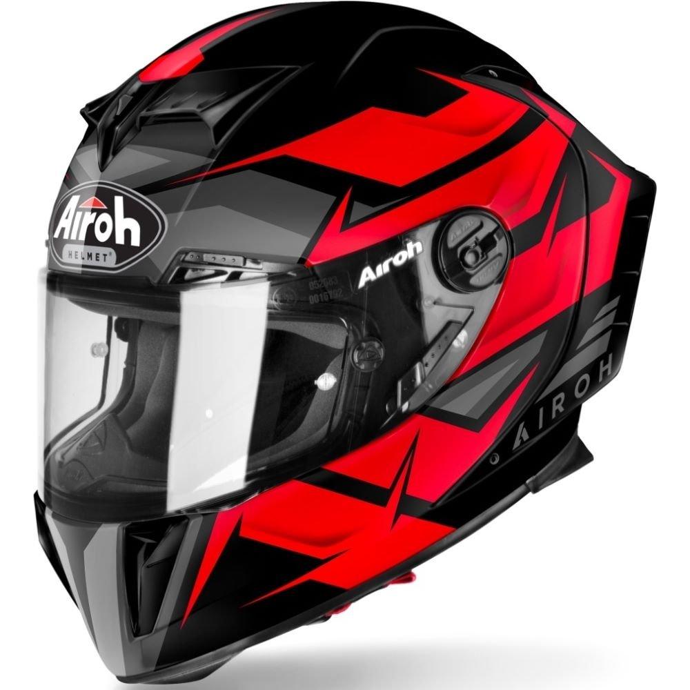 GP550S Wander Helmet Matt Red Airoh Helmets