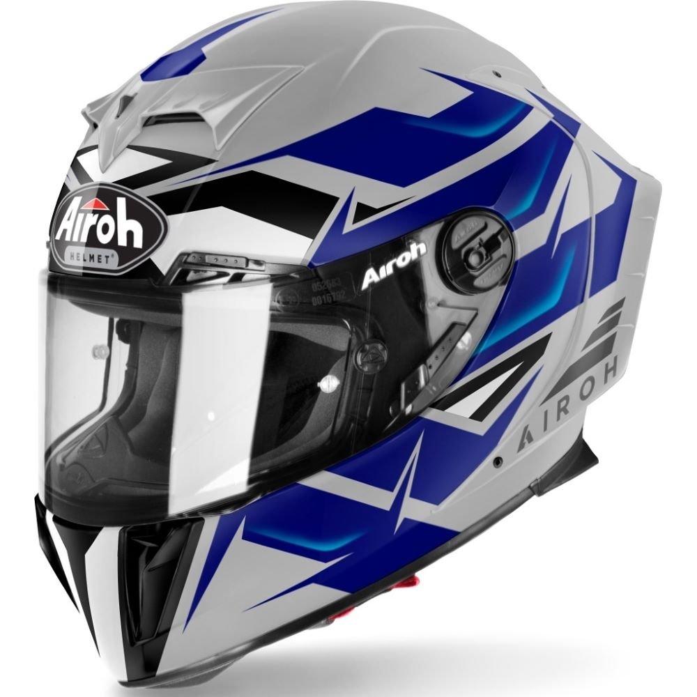 GP550S Wander Helmet Blue Airoh Helmets