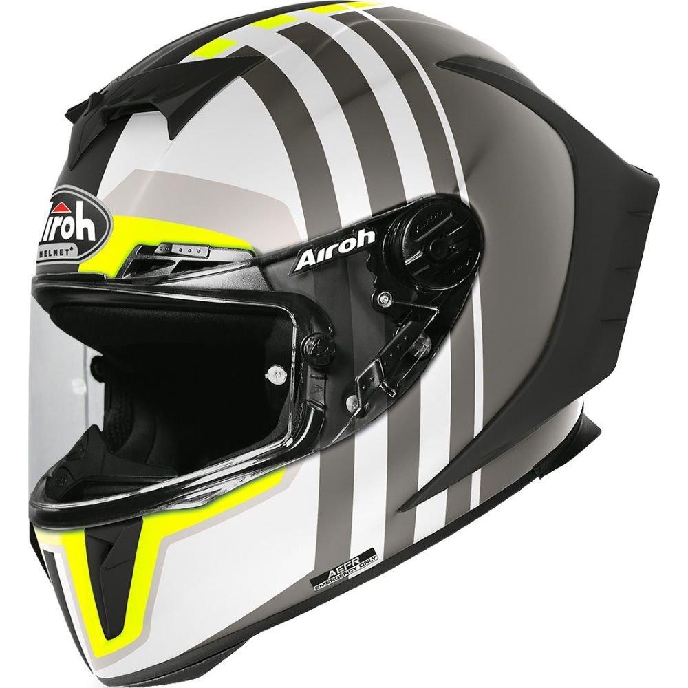 GP550S Skyline Helmet Matt Black Airoh Helmets