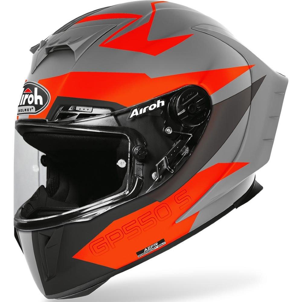 GP550S Skyline Helmet Matt Orange Airoh Helmets