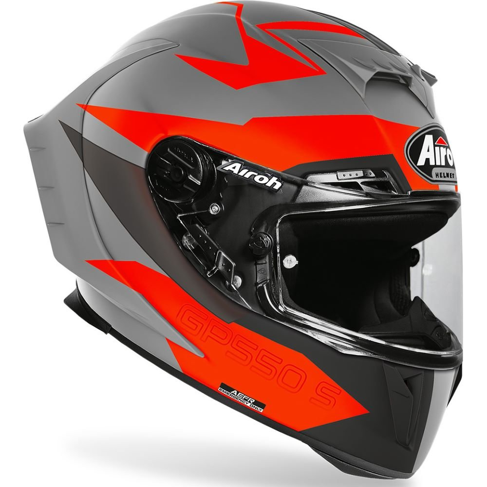 Airoh GP550S Skyline Helmet Matt Orange Default Title