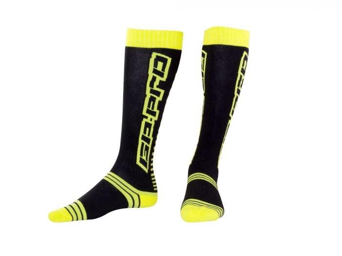 MX Race Sock GP-Pro Black Green Bike-It Clothing