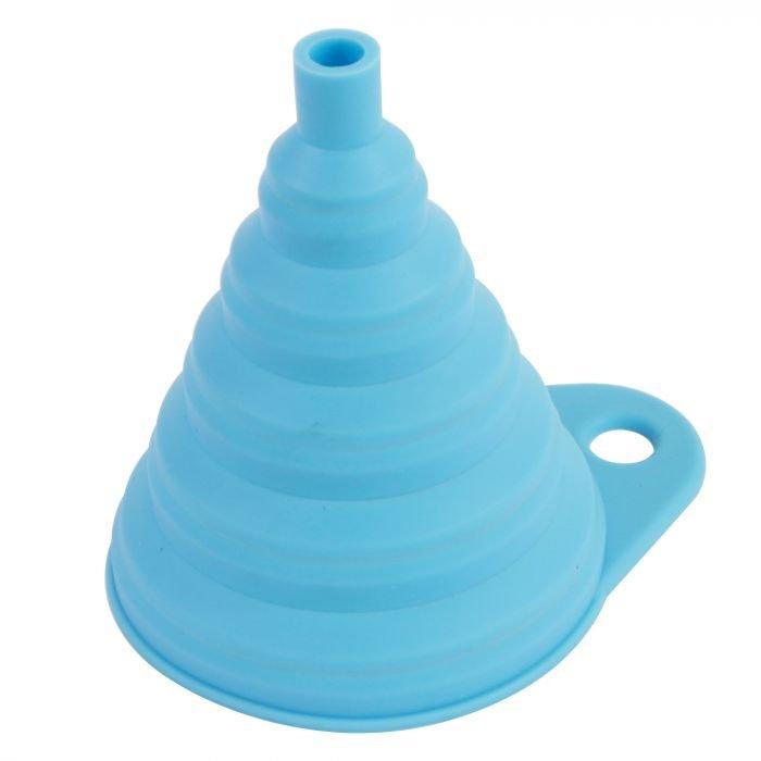 Bike It Silicone Funnel Blue Funnel