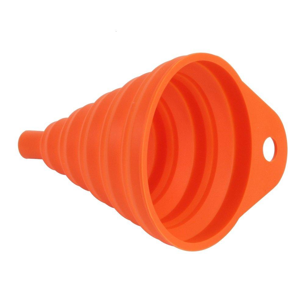Bike It Silicone Funnel Orange Funnel
