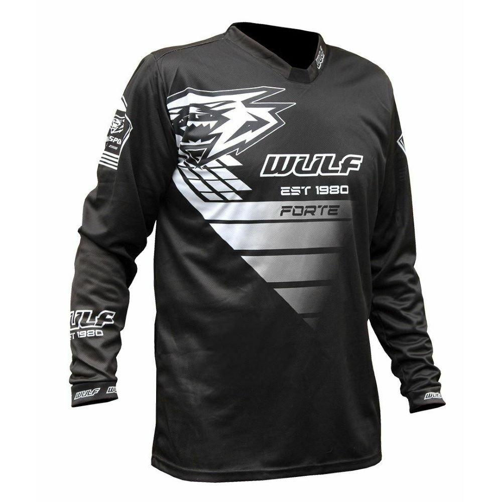 Nero Forte Shirt Black White Wulfsport