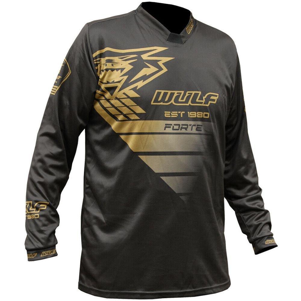 Nero Forte Shirt Black Gold Wulfsport