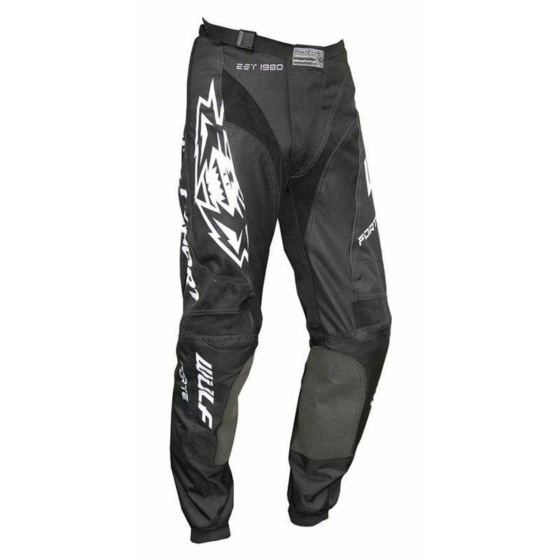 Nero Forte Pants Black White Wulfsport