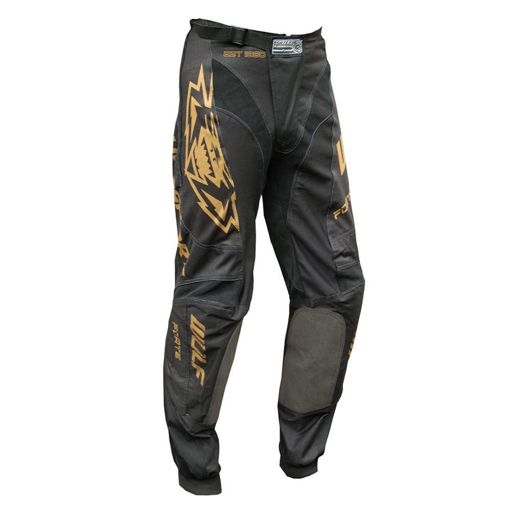 Nero Forte Pants Black Gold Wulfsport