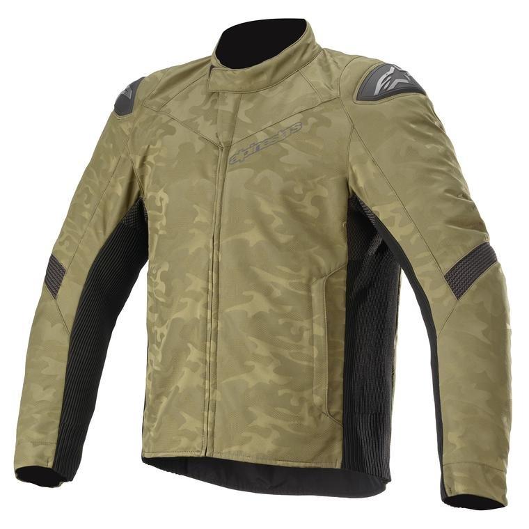 Alpinestars T SP-5 Rideknit Jacket Military Green Camo Black Default Title