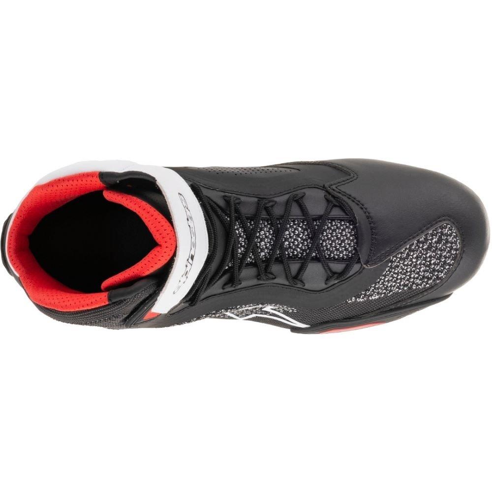 Alpinestars Faster-3 Rideknit Shoe Black White Red Default Title
