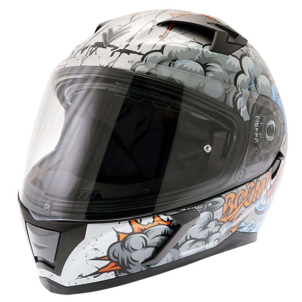FT39SV Raptor Helmet Grey