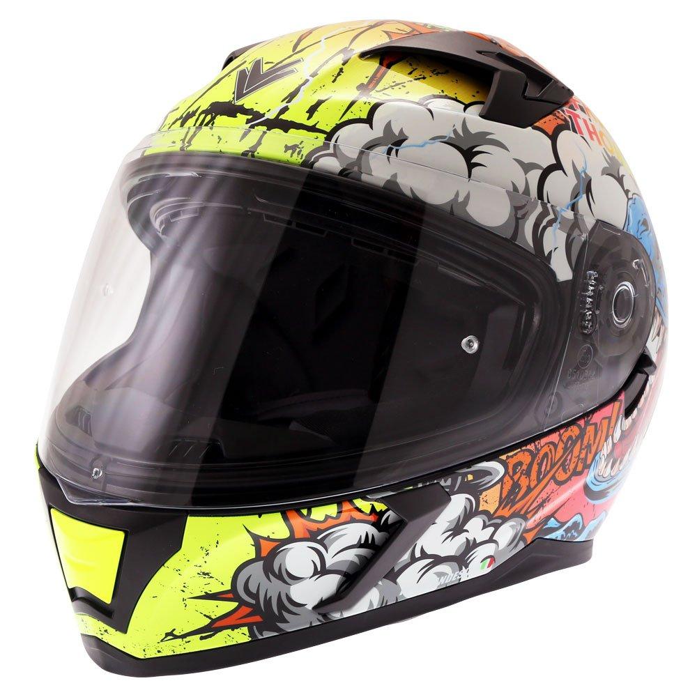 FT39SV Raptor Helmet Orange