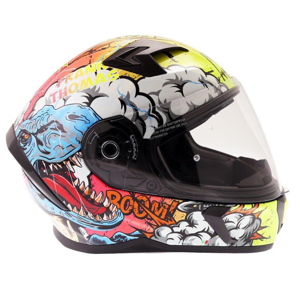 Frank Thomas FT39SV Raptor Helmet Orange Default Title